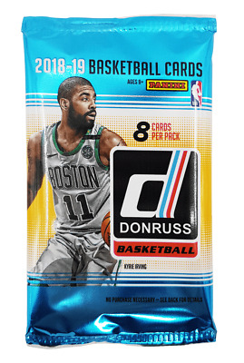 2018-19 Panini Donruss NBA Basketball (1) Factory Sealed Retail Pack - 8 Cards