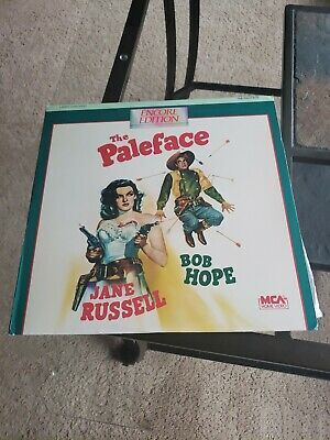 The Paleface Laserdisc - Jane Russell