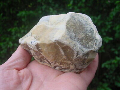RARE Acheulian Lower Palaeolithic Patinated Flint CORE CHOPPER Hampshire UK