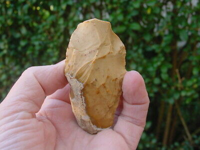 NEOLITHIC Patinated Flint Flaked AXE Dorset, UK