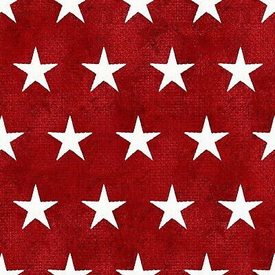 By 1//2 Yd White on Red Quilting Kaufman//Zimmerman//Buttercup//10573-121 B562