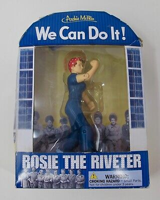 Rosie the Riveter Action Figure We Can Do it WLM Collectible Historical Figure