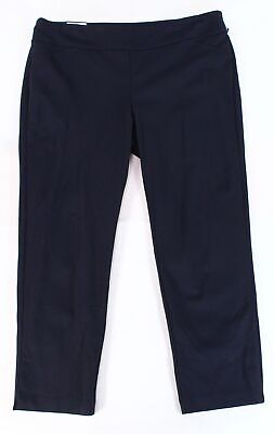 Charter Club Womens Pants Blue Size 22W Plus Tummy Control Slim Stretch $69 020