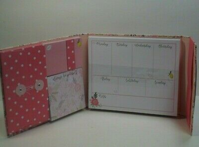 Tri- Costal Design Weekly Organizer ( Sticky Notes, Memo Pad & Note Pad )