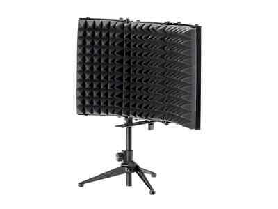 Stage Right by Monoprice Desktop Microphone Isolation Shield