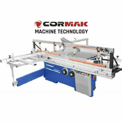 CORMAK MJ45-KD3 sliding table saw with a scoring and a Polish motor
