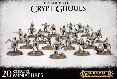 Warhammer Age of Sigmar Flesh-Eater Courts Crypt Ghouls Bits
