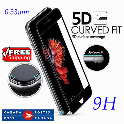 Premium 5D PRO-Glass Tempered Glass Screen Protector for iPhone Free Shipping