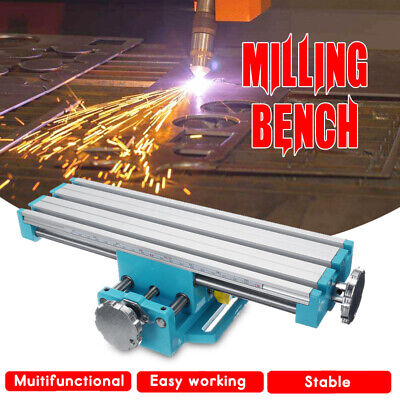 Durable Mini Multifunctional Milling Bench Drill Working Vise Machine Work Table