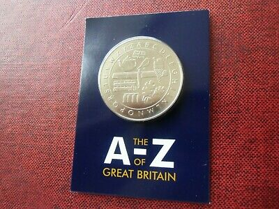 2018 / 2019 A-Z Collector / Completer Medal for the A to Z 10p Collection