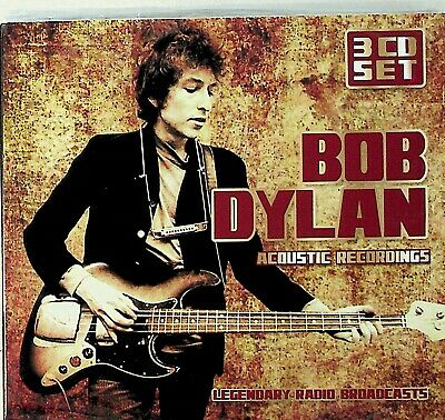 BOB DYLAN -Live Acoustic Recordings -3-CD (NEW) Legendary Radio Broadcasts