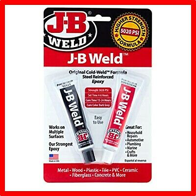 J-B Weld 8280 Original Professional Size Steel Reinforced Epoxy - 2 oz.