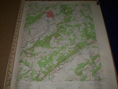 1950'S U.s. Dept. Of Interior & Army Engineers New Jersey Map Lot Of 16 - O 3H