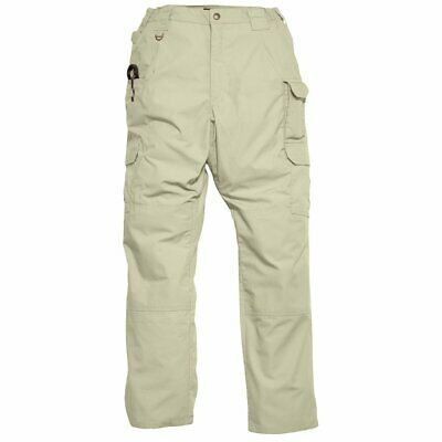 5.11 Tactical Womens Pants Beige Size 4 Tactile-Pro Relaxed-Fit Cargo $50 623