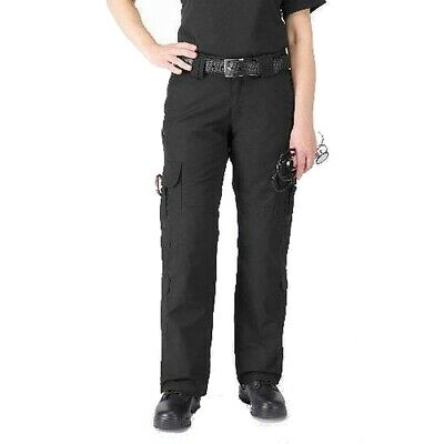 5.11 Tactical Black Women's Size 14 Cargo Work EMS Stretch Pants $64 #338