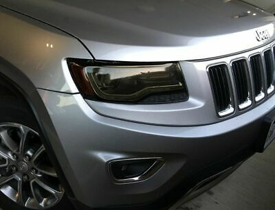 For 2014-2016 Grand Cherokee Head Light Precut Smoke Tint Overlays