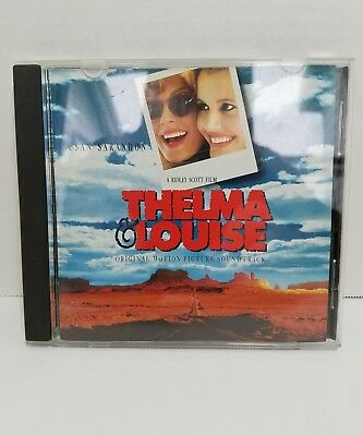 MCA THELMA & LOUISE Motion Picture Soundtrack CD 1991