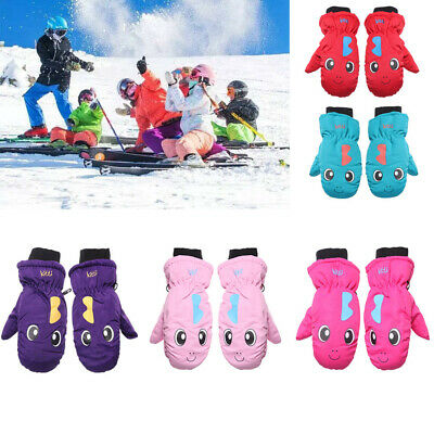 Must Snow Snowboard Long-sleeved Mitten Children Ski Gloves Outdoor Riding