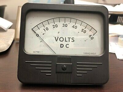 Lincoln Volt Meter 9SM7981-1 Used - tested