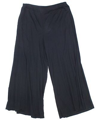 Eileen Fisher Women's Black Size Small S Pull On Pants Stretch $118- #774