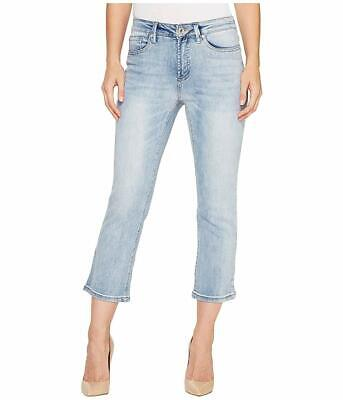 Tribal Womens Jeans Blue Size 16 Bootcut Cropped Mid-Rise Stretch $59 523