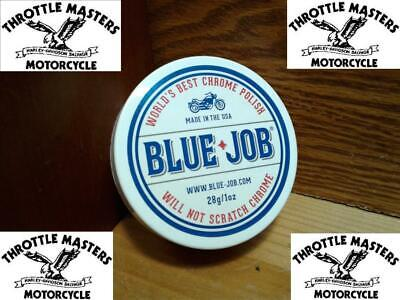 Blue-Job Chrome Polish 28g Jar remove exhaust bluing Long Lasting Shine Bright
