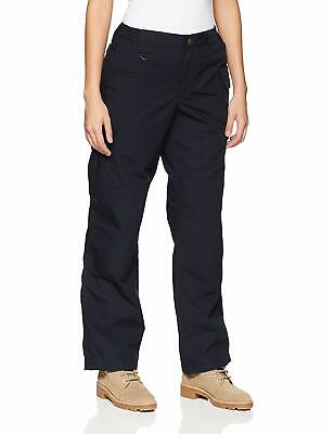 5.11 Tactical Womens Pants Dark Navy Blue Size 12 Cargo Stretch Taclite $58 635