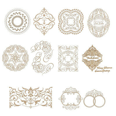 Printing Hot Foil Plate Paper Card Crafts Embossing Metal Cutting Dies Stencil