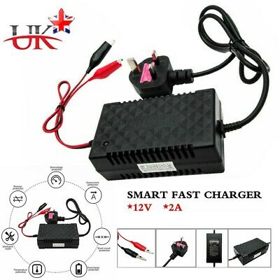 Intelligent Motorbike Motorcycle Battery Charger 12V Automatic Smart Trickle Toy