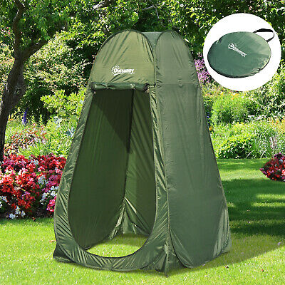 Pop Up Shower Tent Camping Beach Toilet Privacy Changing Room Portable Multi-use