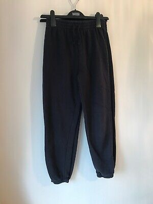 Two Pairs Girls Blue Joggers By Sainsburys Age 12 Years