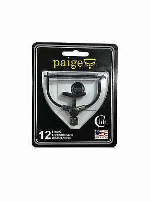 Paige P12E Kapodaster Curved Akustik Gitarre Capo 12-string *MADE IN USA*