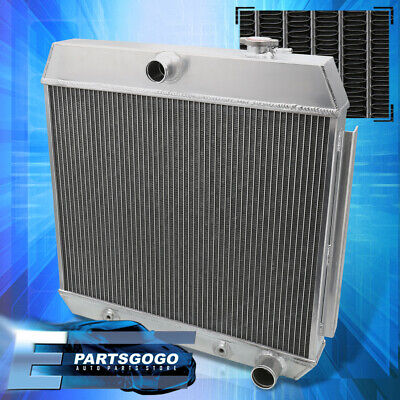For 55-57 Chevy Small Block M/T Performance Tri Core Cooling Aluminum Radiator