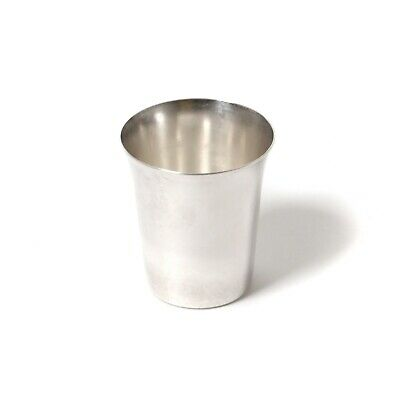 Silver​ vodka cup (shot cup).  Was imported to Sweden.