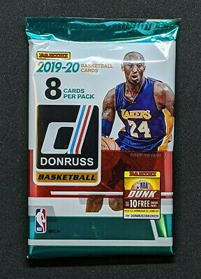 2019-20 PANINI DONRUSS NBA Basketball (1) Unopened Retail PACK MORANT? ZION RC?