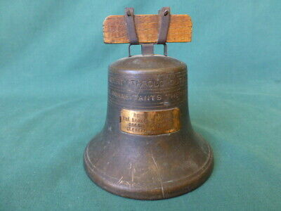 Antique Liberty Bell Still Bank Bankers  Savings & Credit System Cleveland Ohio