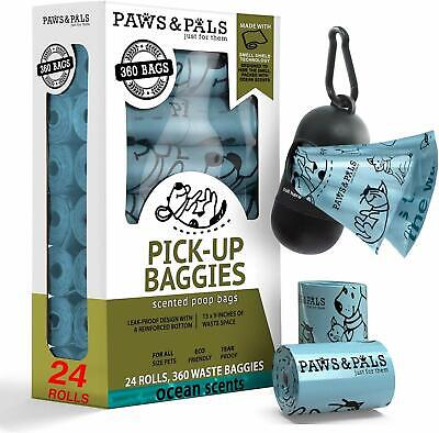 Poop Bags for Dogs Biodegradable Waste Pet Dog & Cat Scented Poo Bag