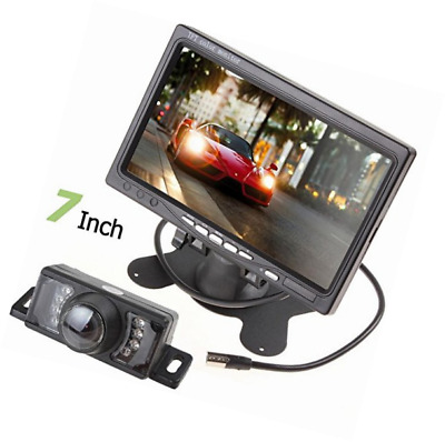 "BW Car Parking Kits - 7"" TFT Color LCD 2 Video Input Rear View Headrest Monitor"