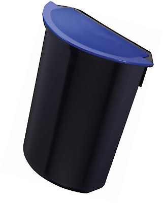 Zwingo Z14408 Integral for Waste Paper Basket 16/20/24 Litre Black/Blue