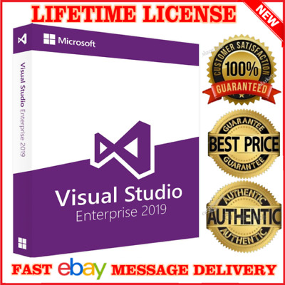 Visual Studio EnterprisePro 2019 ✔ Fast Delivery ✔ Unlimited PC's ✔ Lifetime