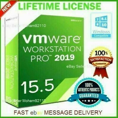 VMware Workstation 15.5 Pro for Windows 5PC Lifetime License Key FAST DELIVERY