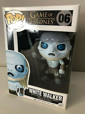 Game of Thrones FUNKO Pop! WHITE WALKER #06 Glow in the Dark HMV Exclusive 2013