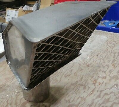 """Autocar 4"""" Short style Exhaust Diffuser A2320066-001 NEW"""