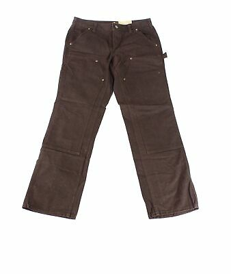 Carhartt Women's Pants Brown Size 18 Plus Crawford Double-Front $119- 651