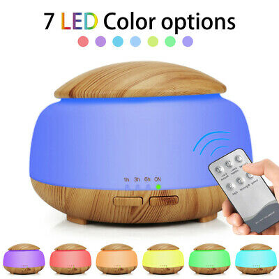 300ml Essential Oil Aroma Diffuser LED Ultrasonic Air Aromatherapy Humidifier