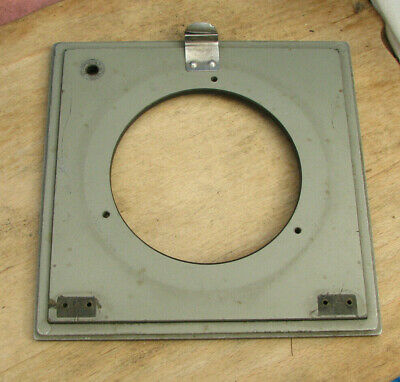 genuine early Sinar Norma  F & P  lens board panel with 80mm hole for alphax #5