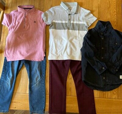 Bundle Boys Various Outfits Age 4-5  Years (See Description)