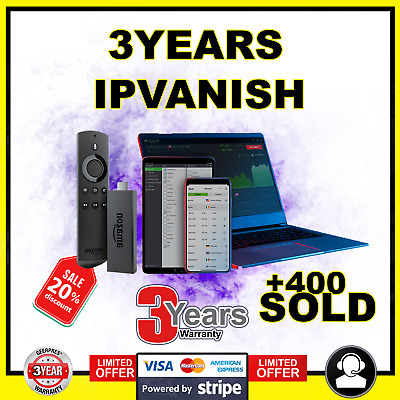 IP Vanish VPN - Account 3 YEARS - Warranty ⭐NOT SHARED VPN ⭐3 devices⭐| Support
