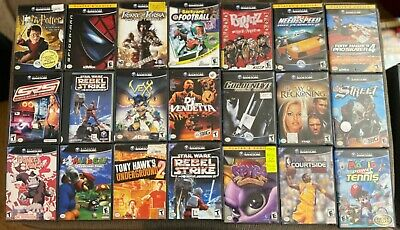 GAMECUBE GAMES!! Pick & Choose Video Games!!! ***MINT***FAST SHIP***TESTED***