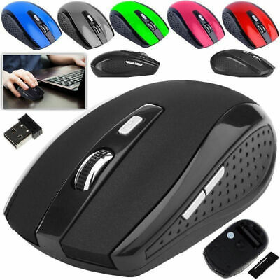 2.4 GHz Wireless Cordless Mouse Mice Optical Scroll For PC Laptop Computer+USB